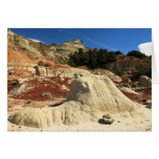 Badlands & Caprocks At Theodore Roosevelt NP Card
