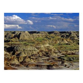 Badlands formations at Dinosaur Provincial Park 4 Postcard