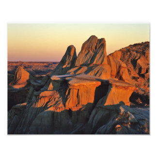 Badlands in Theodore Roosevelt National Park Photograph