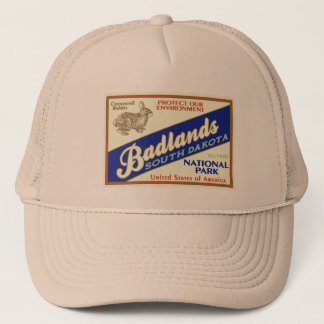 Badlands National Park (Rabbit) Trucker Hat