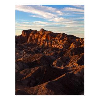Badlands Sunset Postcard
