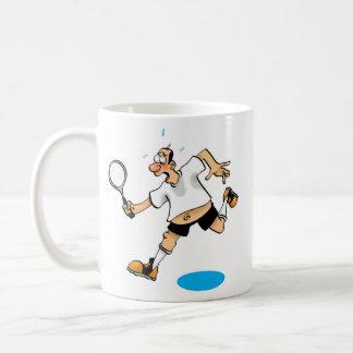 Badmington Man Coffee Mug