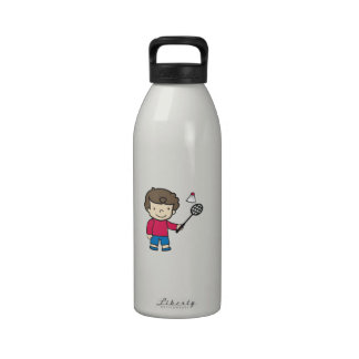 Badminton Boy Drinking Bottle