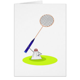 Badminton Card