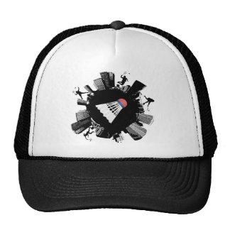 Badminton City Trucker Hat