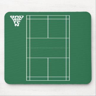 Badminton Court Mousepad