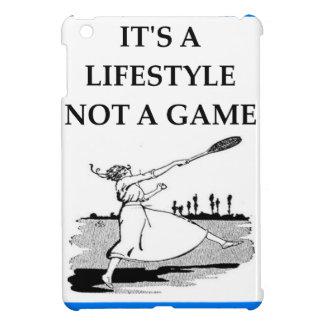 badminton iPad mini covers