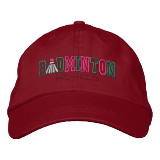 Badminton Kid Embroidered Hat