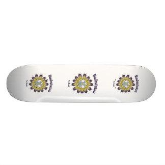 Badminton Not Drugs Flower Skate Boards
