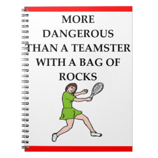 badminton notebooks