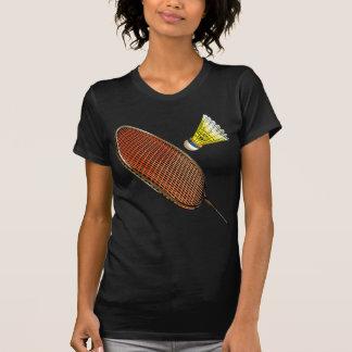Badminton racket and shuttlecock T-Shirt