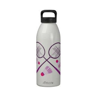 Badminton Rackets Water Bottle
