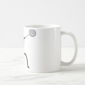badminton star coffee mugs