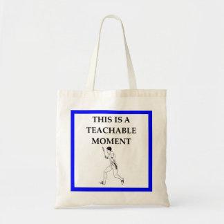 badminton tote bag