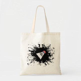 Badminton Urban Style Budget Tote Bag