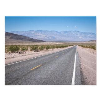Badwater Road Photo Print