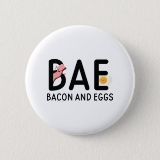 BAE Bacon And Eggs 6 Cm Round Badge