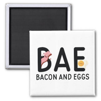 BAE Bacon And Eggs Magnet