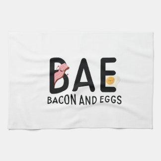 BAE Bacon And Eggs Tea Towel