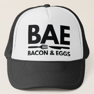 BAE Bacon And Eggs Trucker Hat