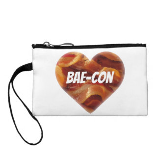 BAE-CON - For Bacon Lovers Everywhere Coin Wallet