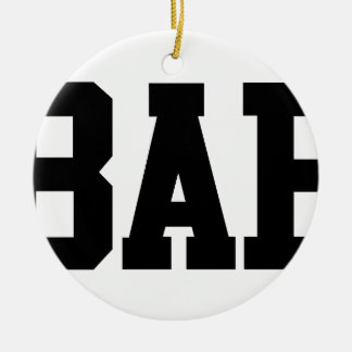 Bae Round Ceramic Decoration