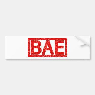 Bae Stamp Bumper Sticker