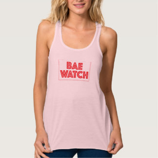Bae watch funny bay watch movie reference singlet