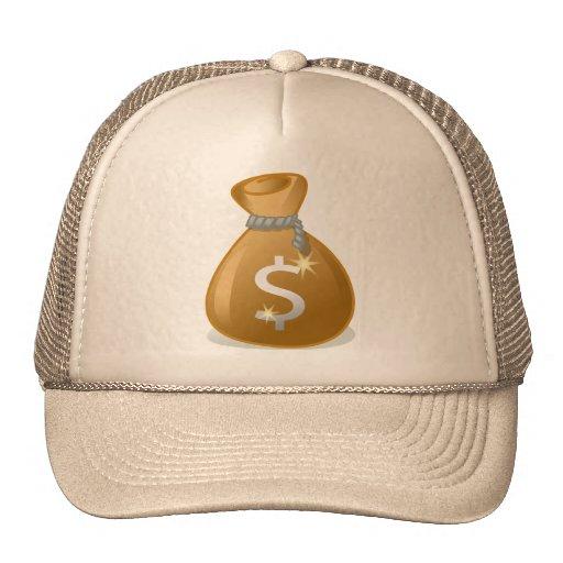bag-147782 bag money wealth revenue finance dollar mesh hat