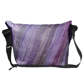 Bag, another rainbow, abstract purple courier bags