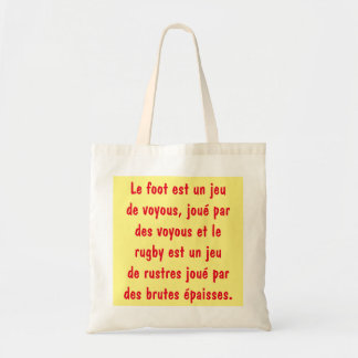 bag anti foot and anti Rugby
