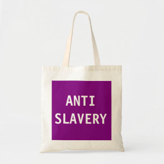 Bag Anti Slavery Purple