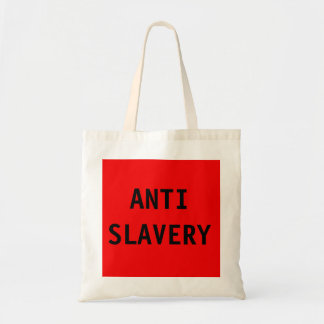 Bag Anti Slavery Red