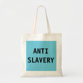 Bag Anti Slavery Turquoise Blue