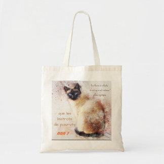 "bag ""bar with cats """