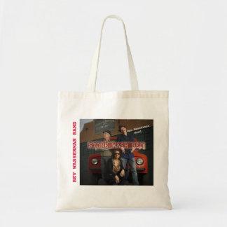 BAG- BEV WASSERMAN BAND STONE WASH RED CD COVER