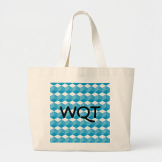 Bag - Block design with initials