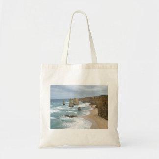 bag, cliff view tote bag