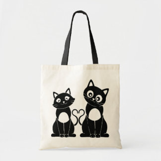 """Bag """"Couple of cats """""""