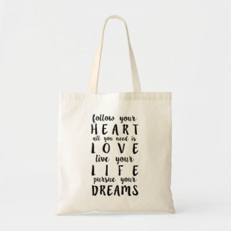 "Bag, ""Follow your Heart… """