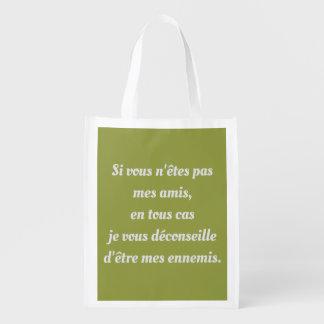 """bag """"friend-enemies """""""