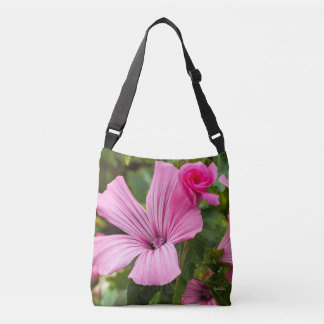 Bag furnace-all pink flower with the dew of the