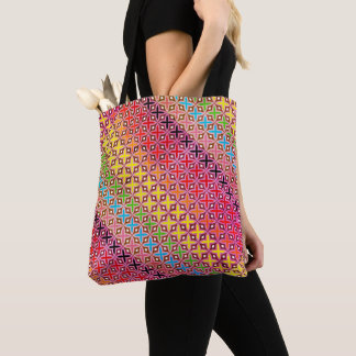 Bag Hold-all multicoloured reason cross abstract
