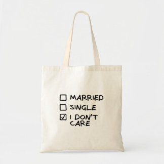 "Bag ""I don' T care"" (I give myself some)"