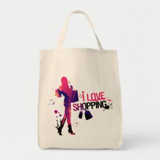 """Bag """"I Love Shopping """""""