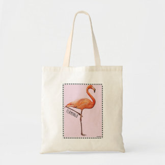 bag lines any pink flamingo