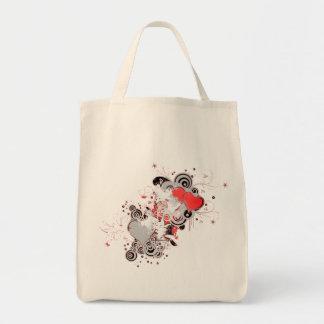 "Bag ""Love Red Heart """
