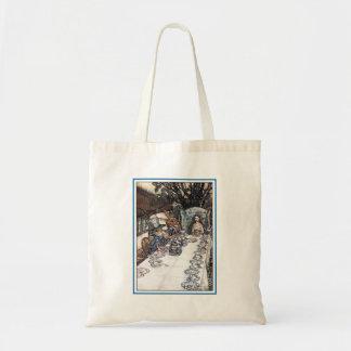 Bag:  Mad Hatter Tea Party - Rackham Tote Bag