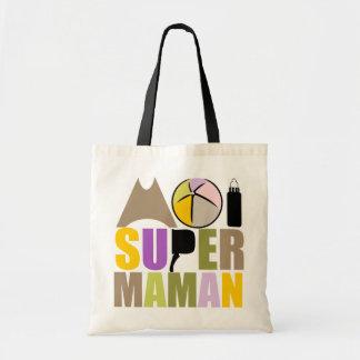 Bag Me Super Mom - Logo Colors Nature
