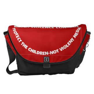 Bag-Messenger-Protect Thy Children Courier Bags